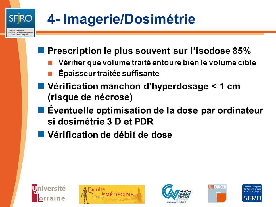 4- Imagerie/Dosimétrie
