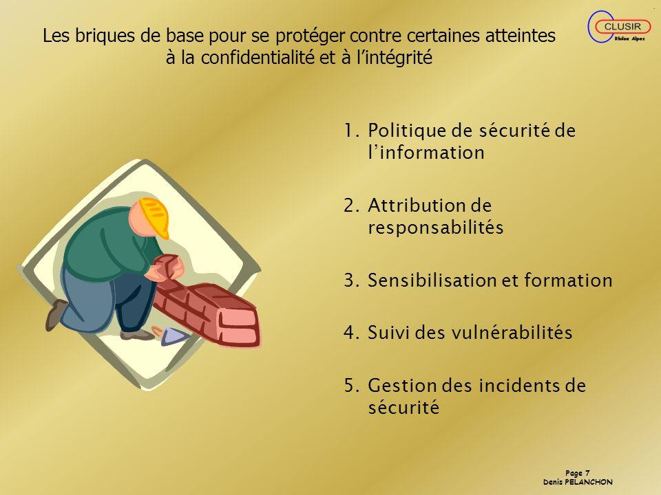 Les briques de base pour se protéger contre certaines atteintes à la confidentialité et à l'intégrité