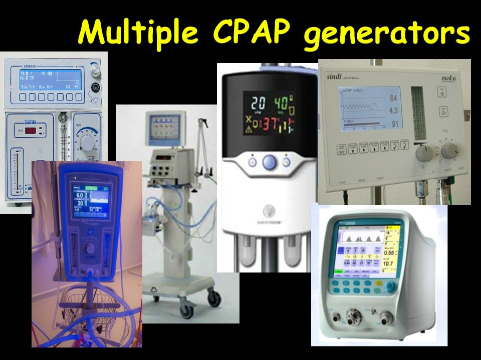 Multiple CPAP generators