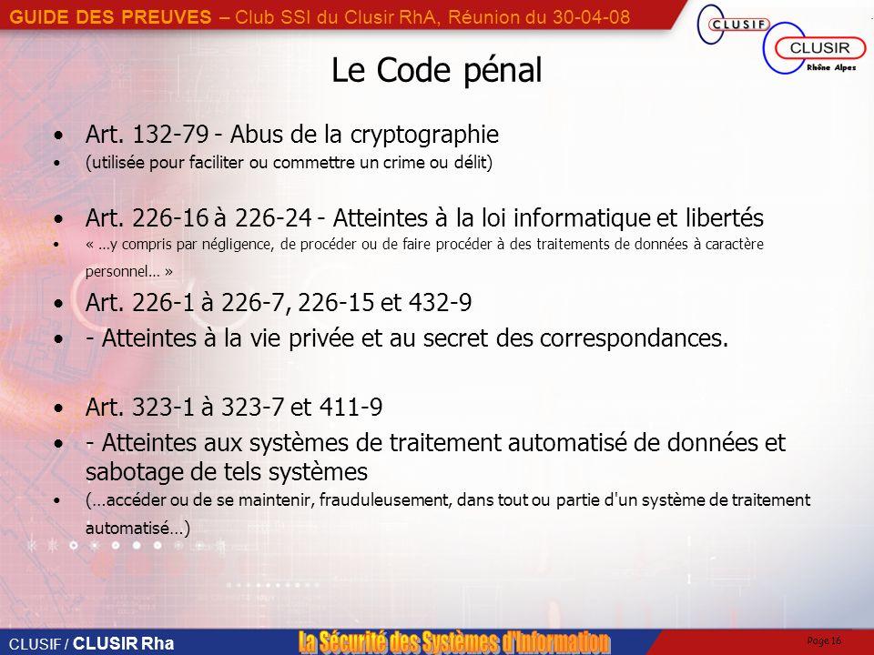 Art. 132-79 - Abus de la cryptographie