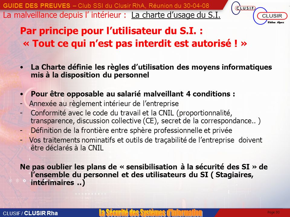 Guide pratique des preuves partie 1 introduction ppt for Definition du reglement interieur
