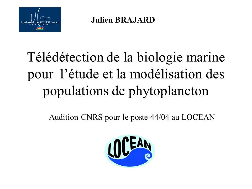 Audition CNRS pour le poste 44/04 au LOCEAN
