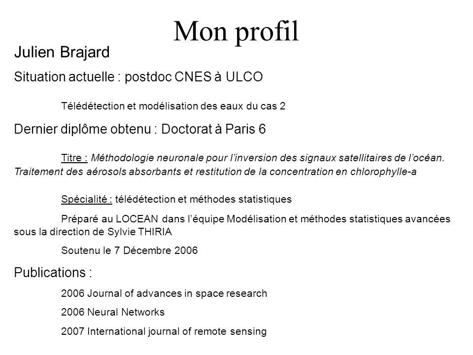 Mon profil Julien Brajard