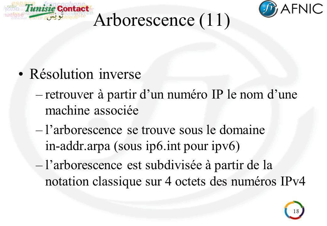 Arborescence (11) Résolution inverse
