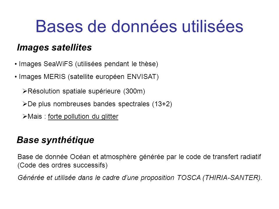 Bases de données utilisées