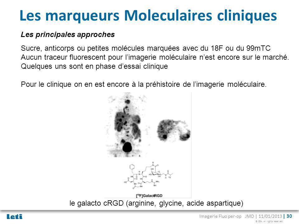 Les marqueurs Moleculaires cliniques