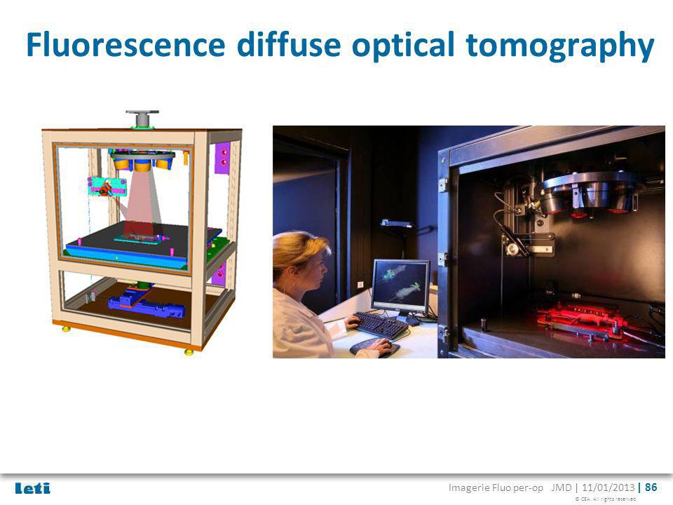 Fluorescence diffuse optical tomography