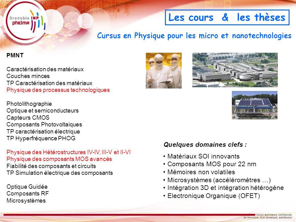 Cursus en Physique pour les micro et nanotechnologies