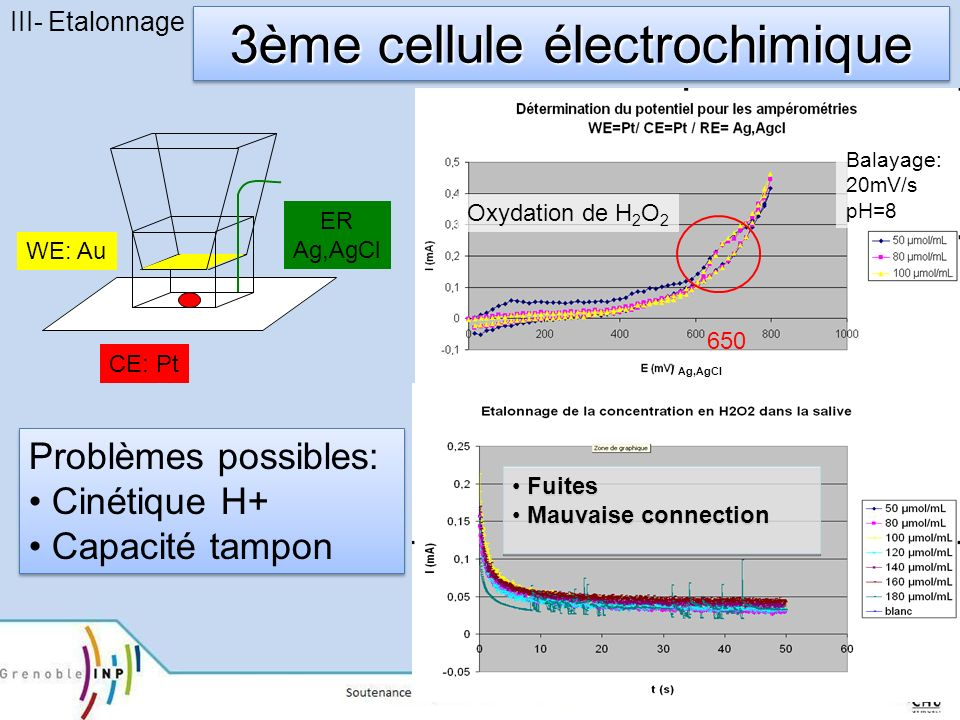 3ème cellule électrochimique