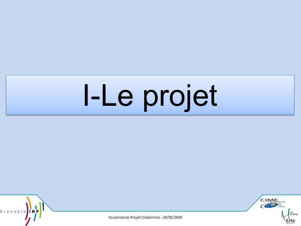 I-Le projet 3