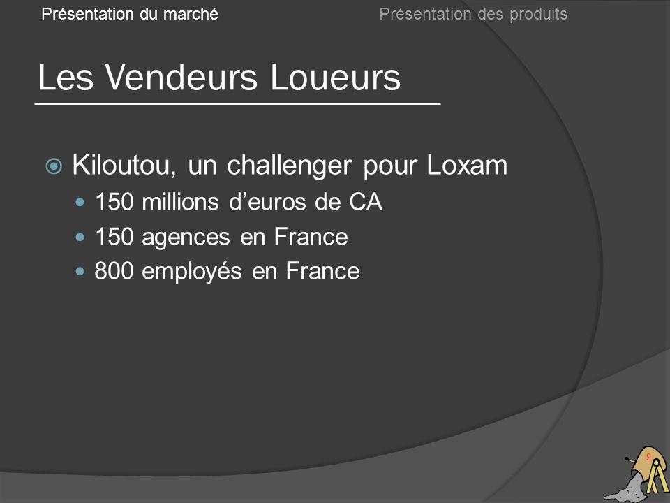Les Vendeurs Loueurs Kiloutou, un challenger pour Loxam