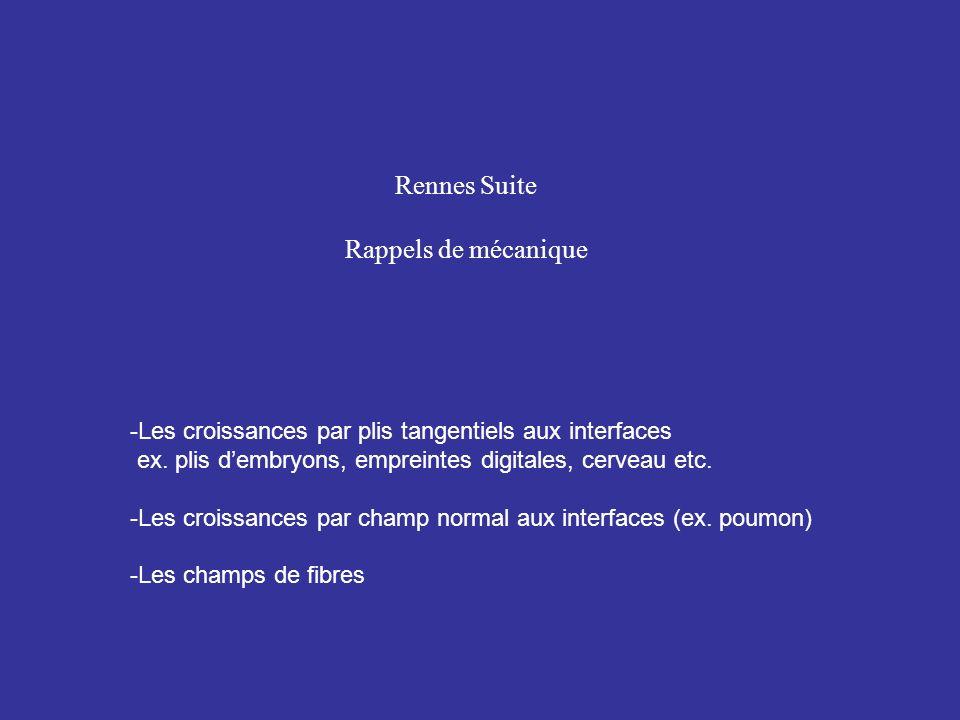 Rennes Suite Rappels de mécanique