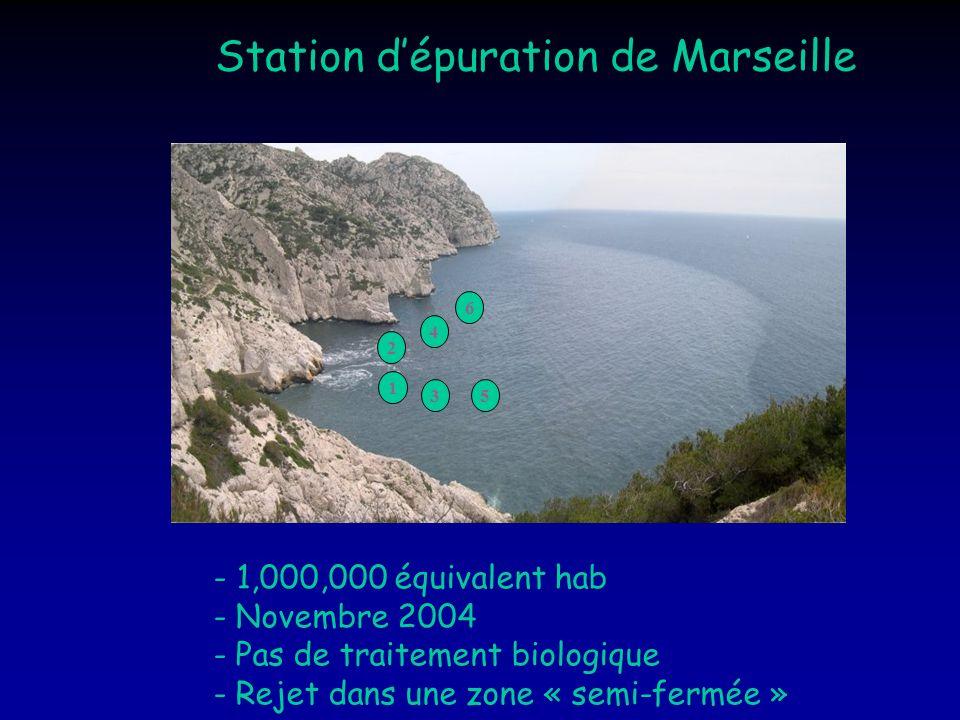 Station d'épuration de Marseille