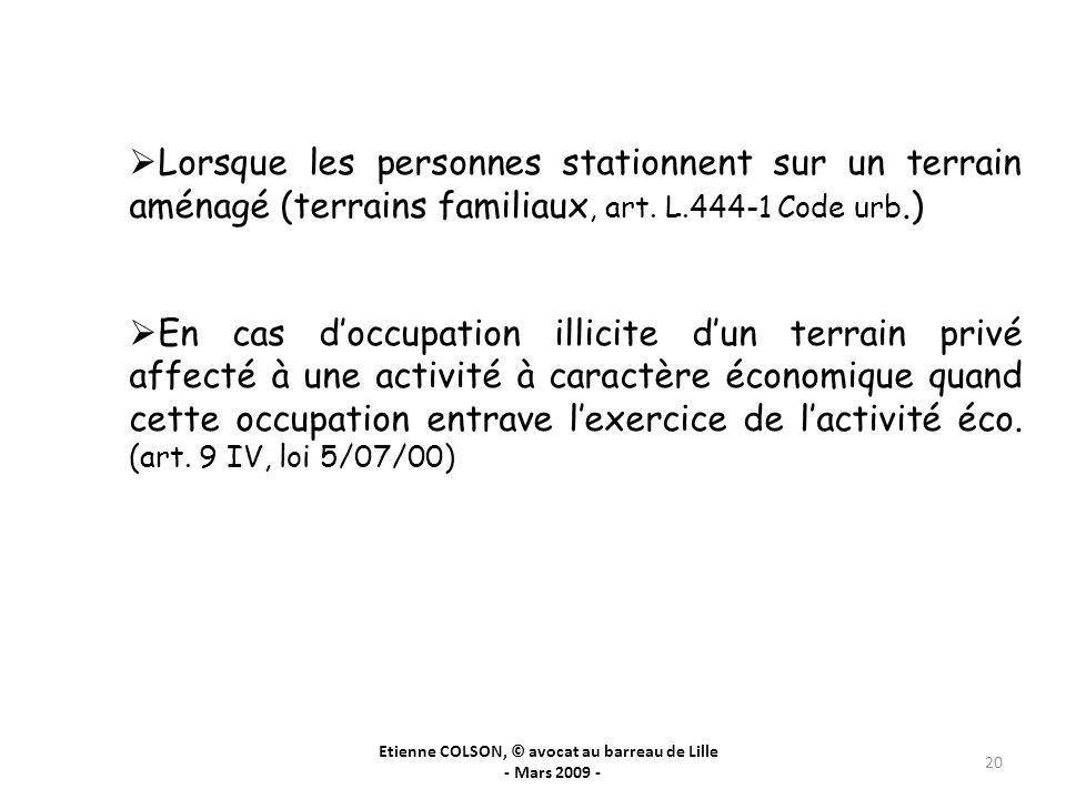 Etienne COLSON, © avocat au barreau de Lille