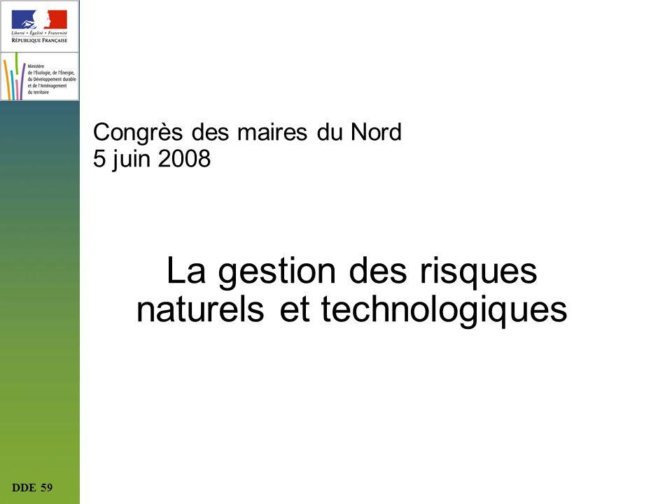 Congrès des maires du Nord 5 juin 2008