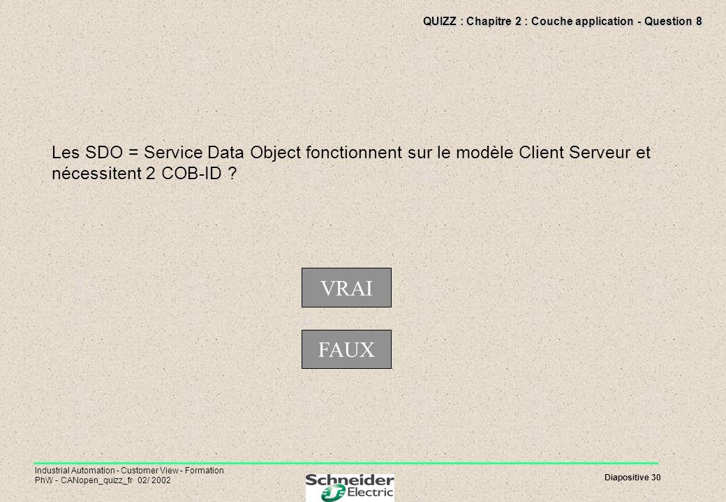 QUIZZ : Chapitre 2 : Couche application - Question 8