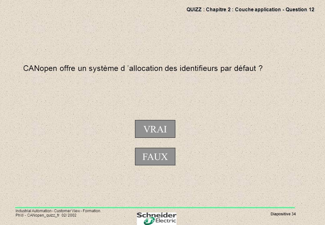 QUIZZ : Chapitre 2 : Couche application - Question 12