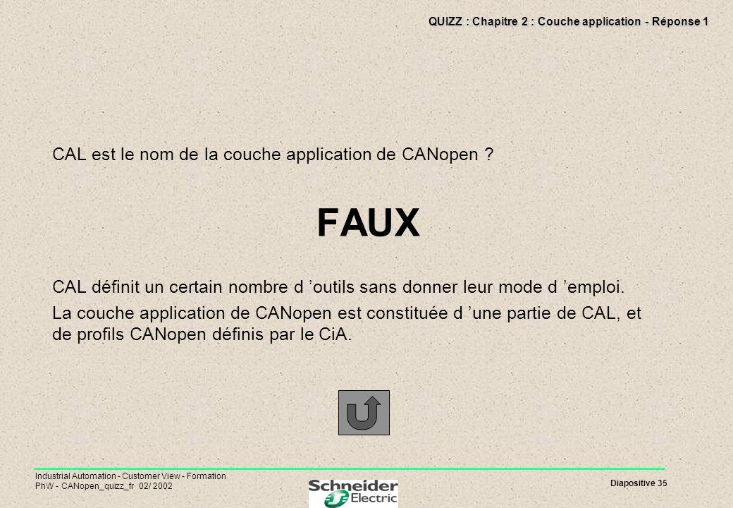 QUIZZ : Chapitre 2 : Couche application - Réponse 1