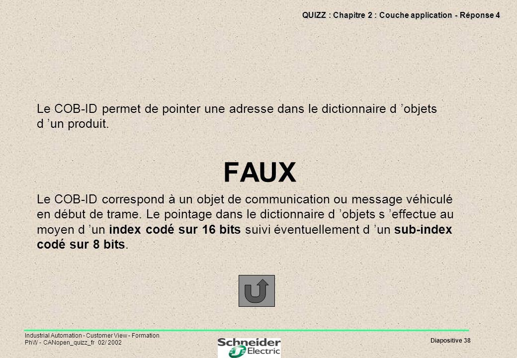 QUIZZ : Chapitre 2 : Couche application - Réponse 4