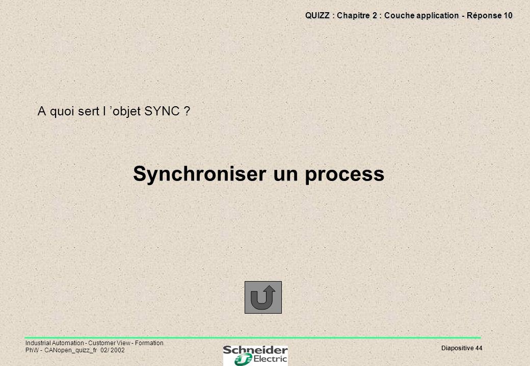 QUIZZ : Chapitre 2 : Couche application - Réponse 10