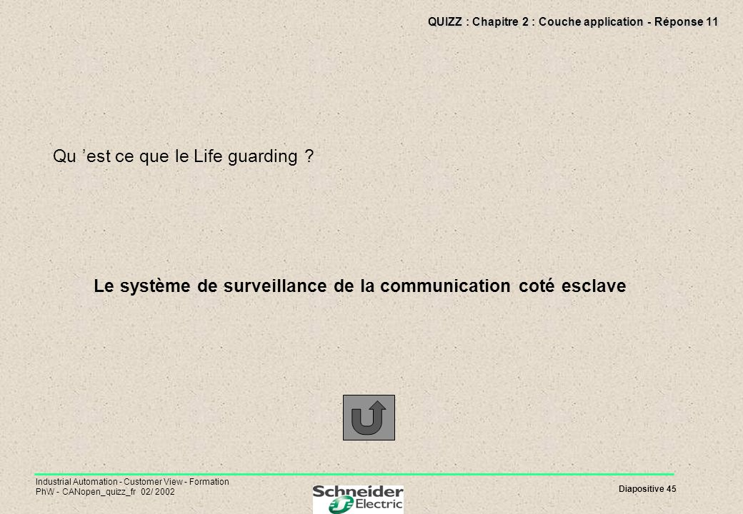 QUIZZ : Chapitre 2 : Couche application - Réponse 11