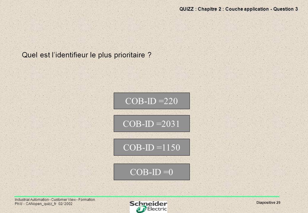 QUIZZ : Chapitre 2 : Couche application - Question 3