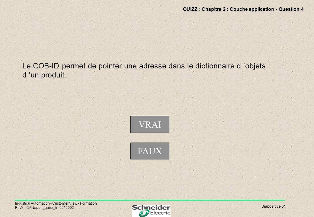 QUIZZ : Chapitre 2 : Couche application - Question 4