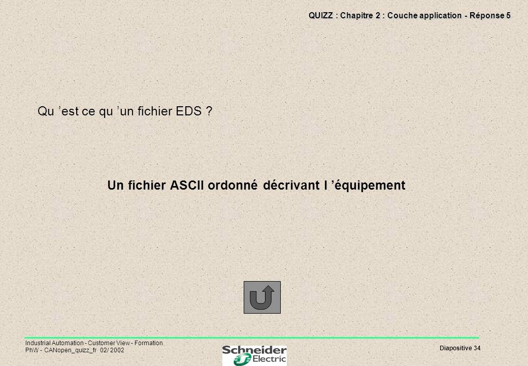 QUIZZ : Chapitre 2 : Couche application - Réponse 5