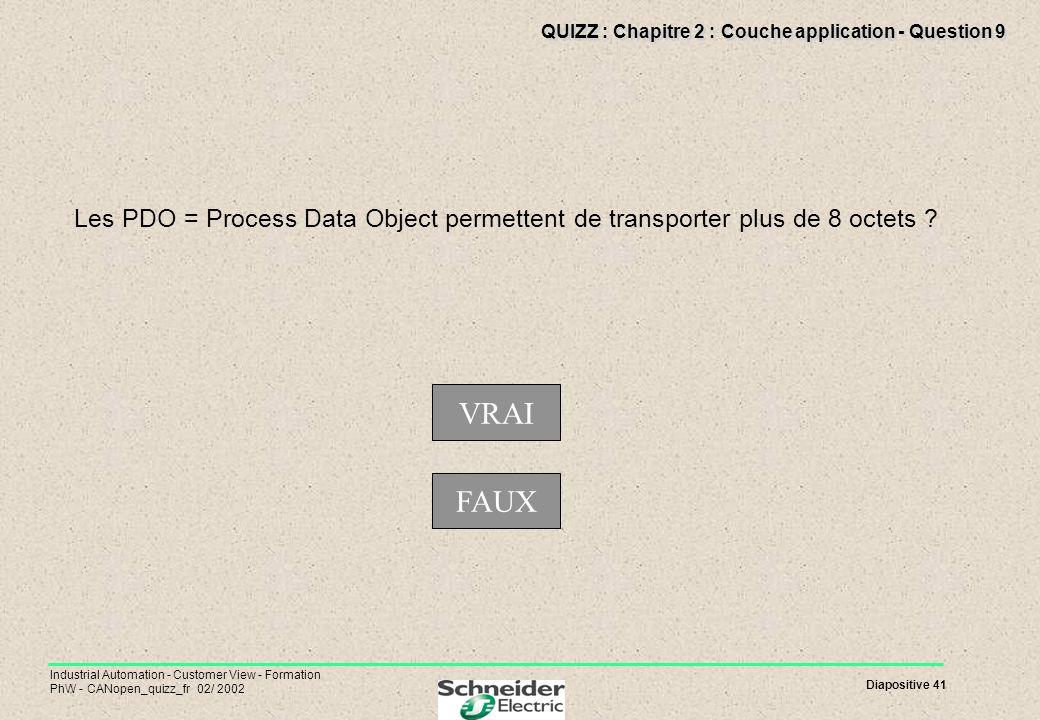 QUIZZ : Chapitre 2 : Couche application - Question 9