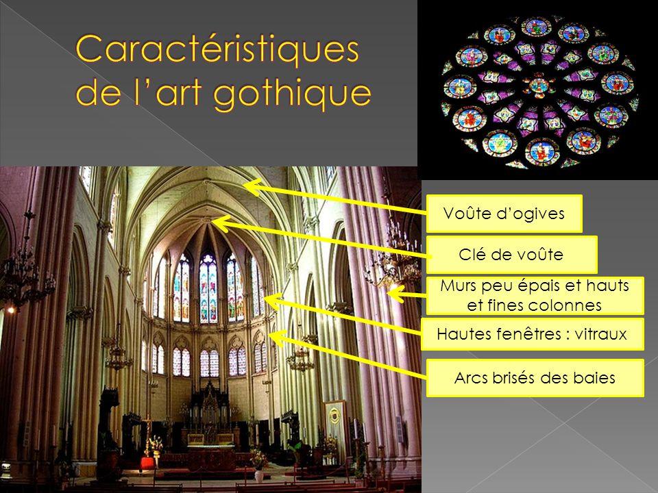 Caractéristiques de l'art gothique