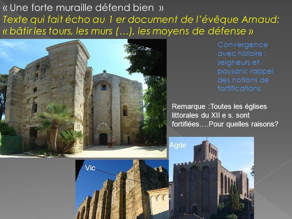 « Une forte muraille défend bien »