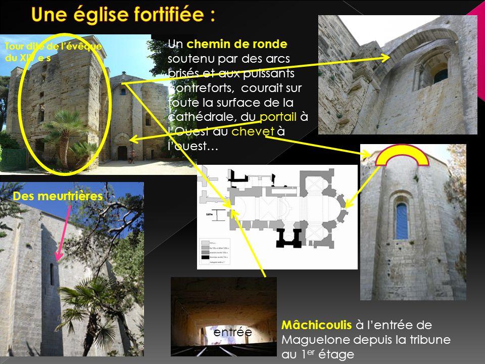 Une église fortifiée :