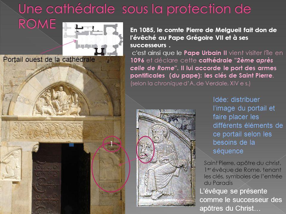 Une cathédrale sous la protection de ROME
