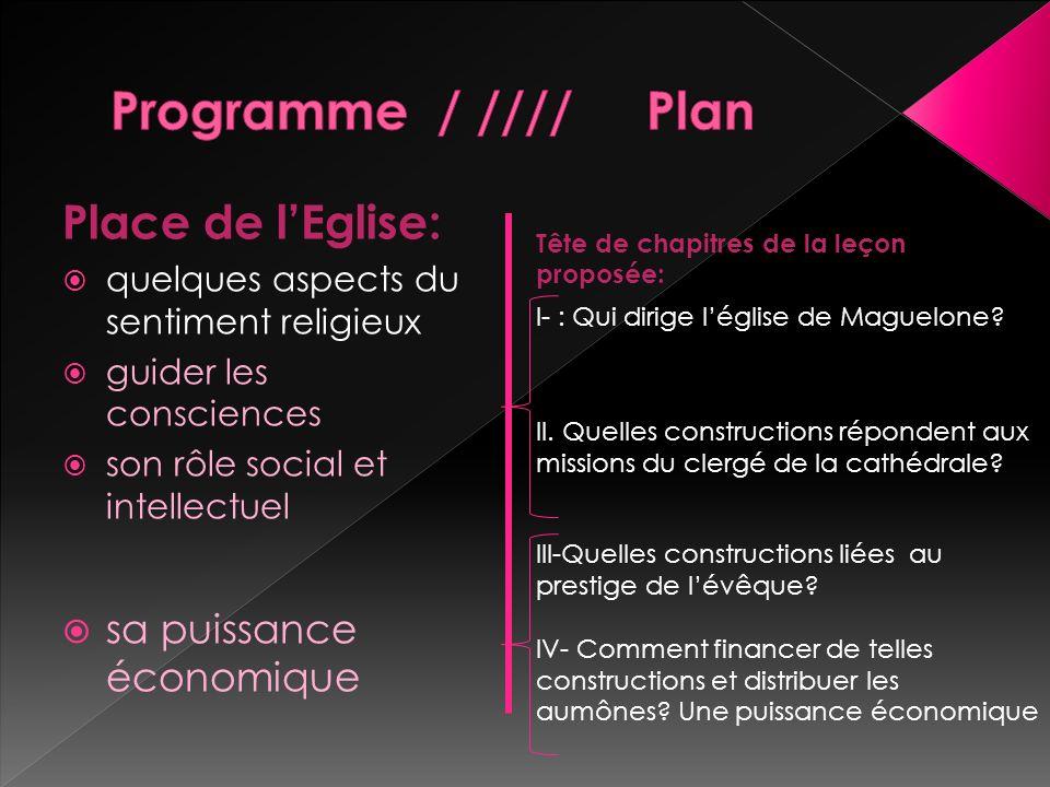 Programme / //// Plan Place de l'Eglise: sa puissance économique