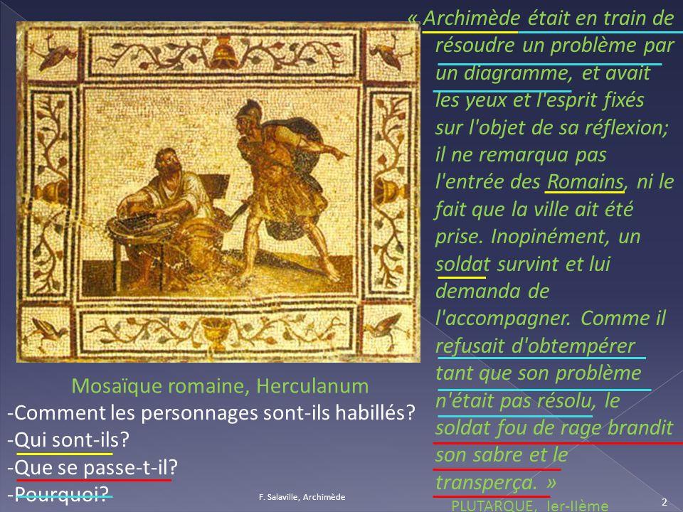 Mosaïque romaine, Herculanum