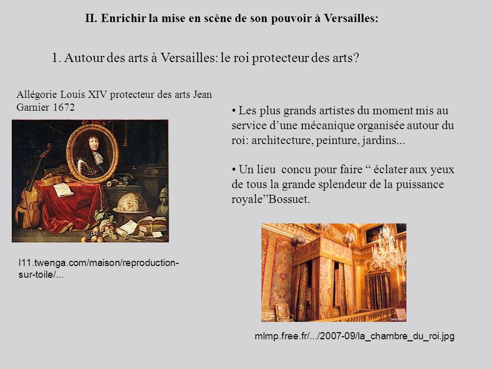 1. Autour des arts à Versailles: le roi protecteur des arts