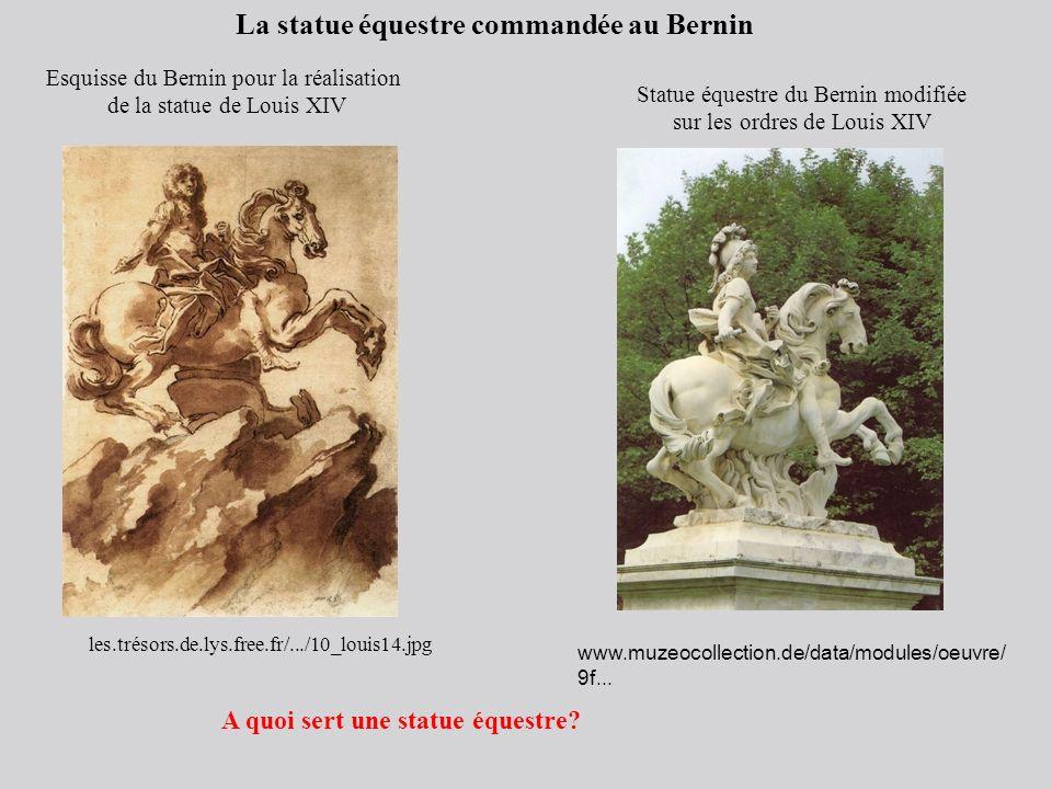 La statue équestre commandée au Bernin
