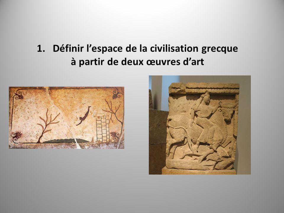 Définir l'espace de la civilisation grecque