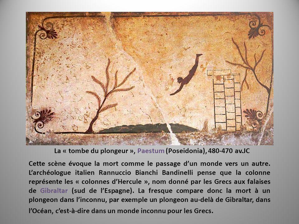 La « tombe du plongeur », Paestum (Poseidonia), 480-470 av.JC