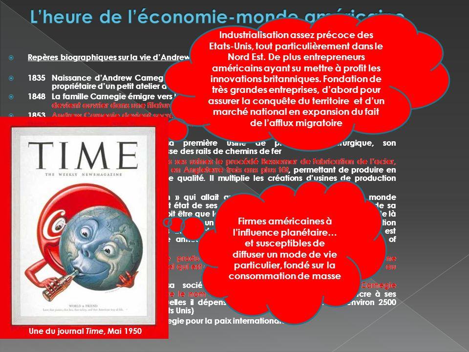 L'heure de l'économie-monde américaine