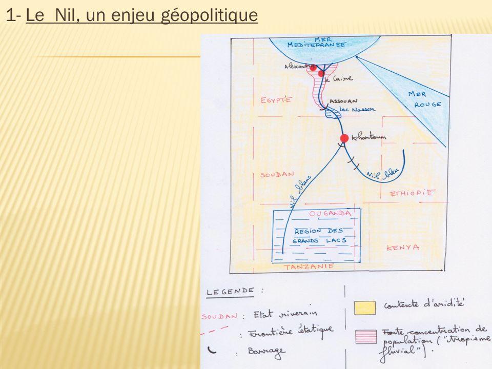 1- Le Nil, un enjeu géopolitique