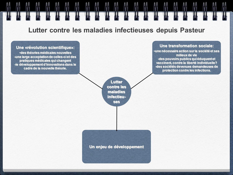 Lutter contre les maladies infectieuses depuis Pasteur