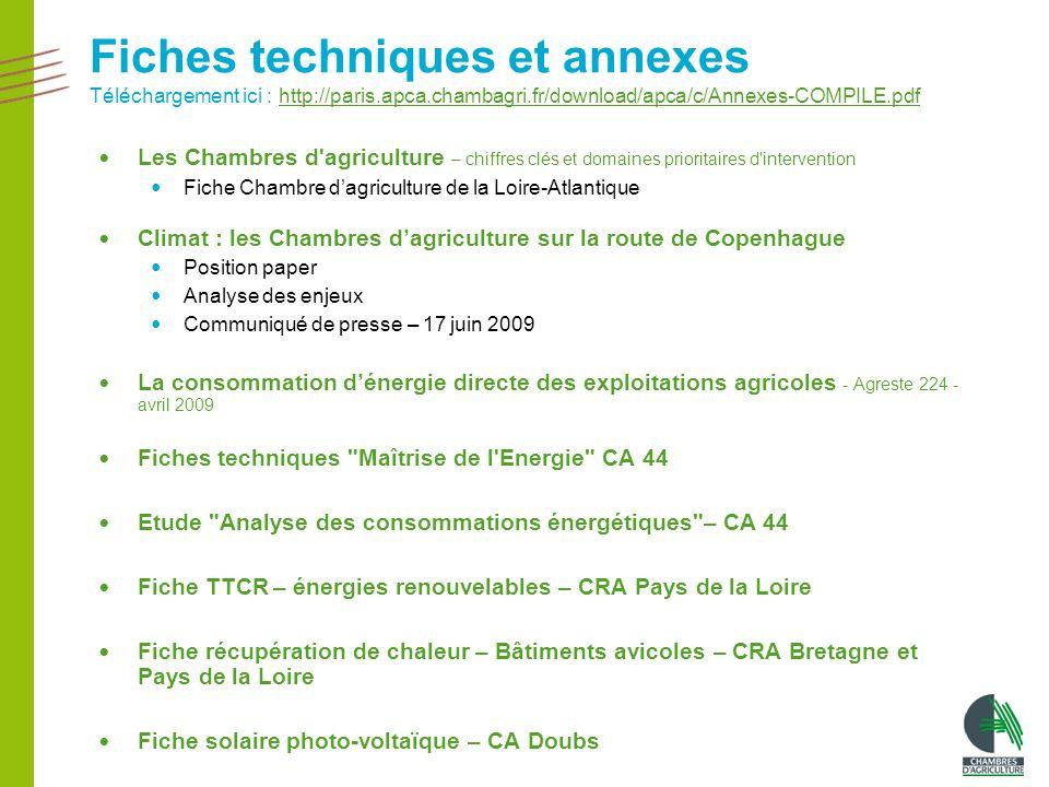 Changement climatique l 39 agriculture pleinement concern e - Chambre regionale d agriculture pays de la loire ...