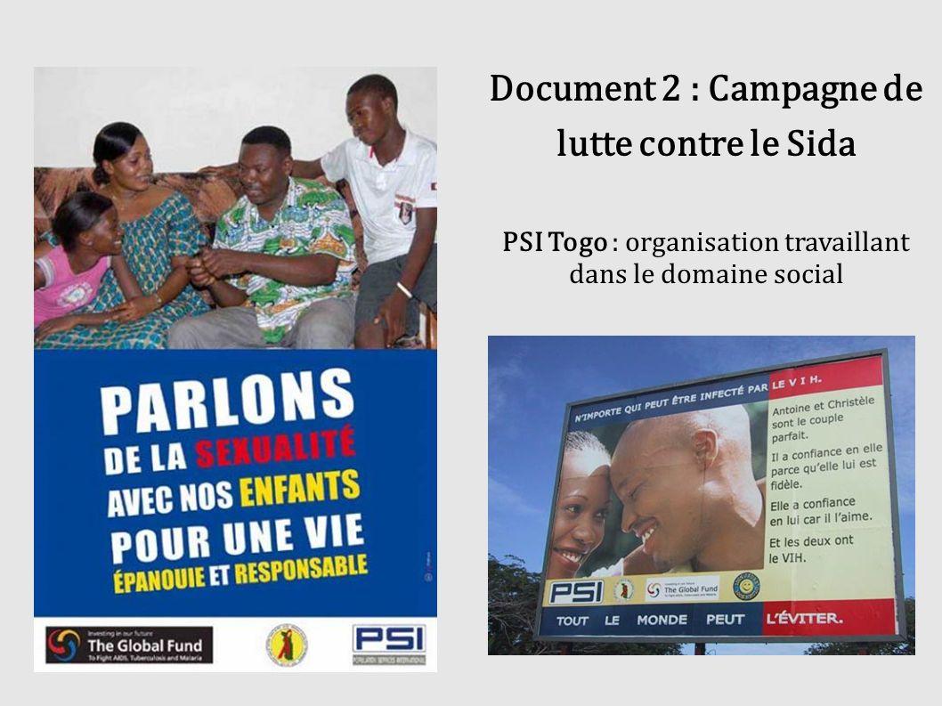 PSI Togo : organisation travaillant dans le domaine social