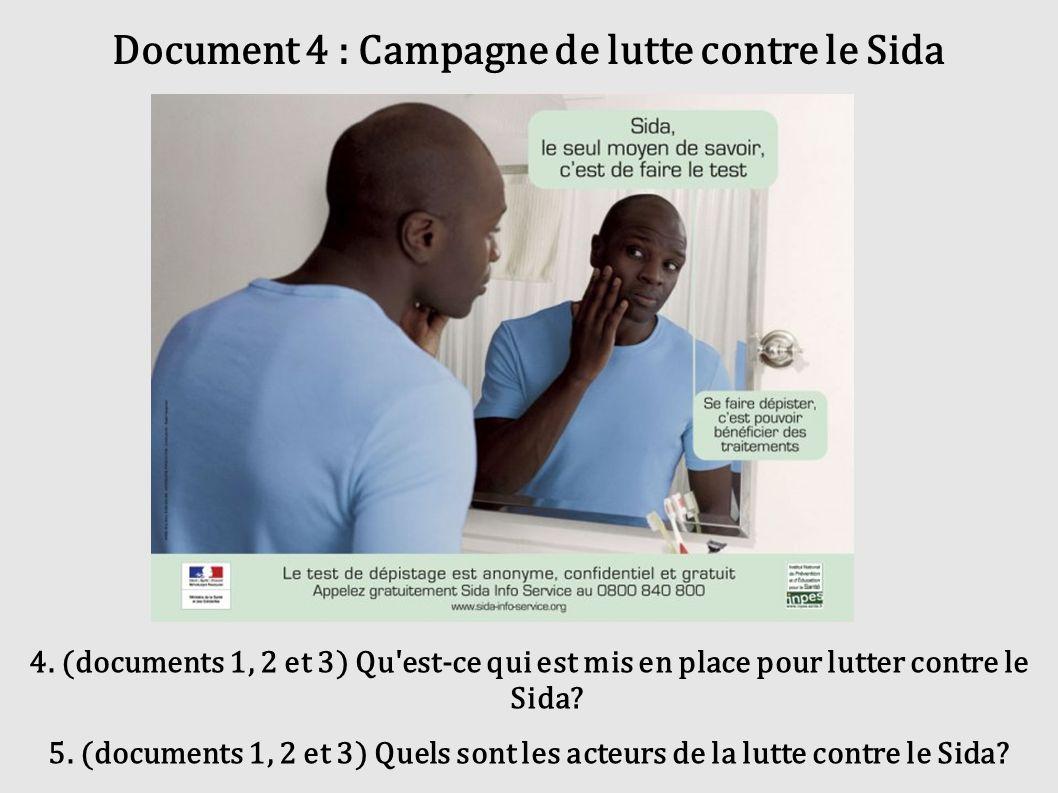 Document 4 : Campagne de lutte contre le Sida
