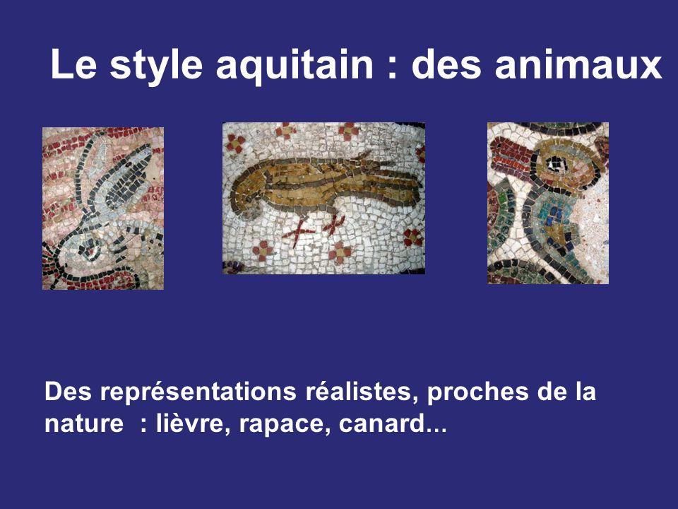 Le style aquitain : des animaux