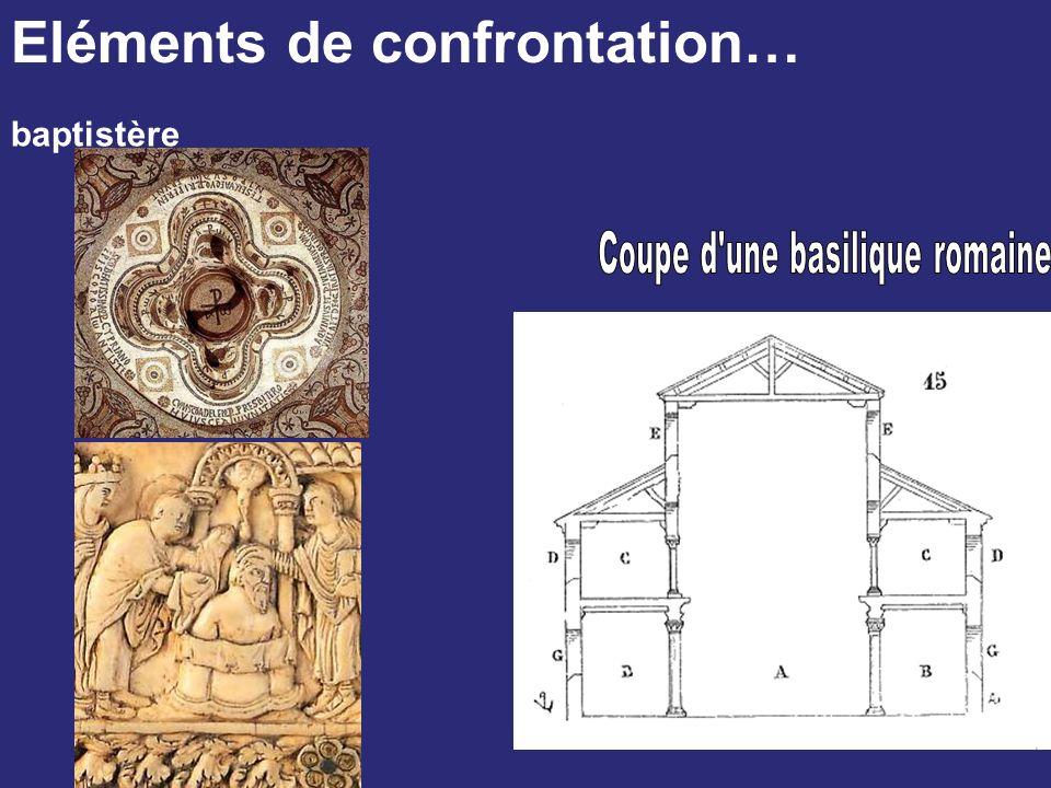 Coupe d une basilique romaine