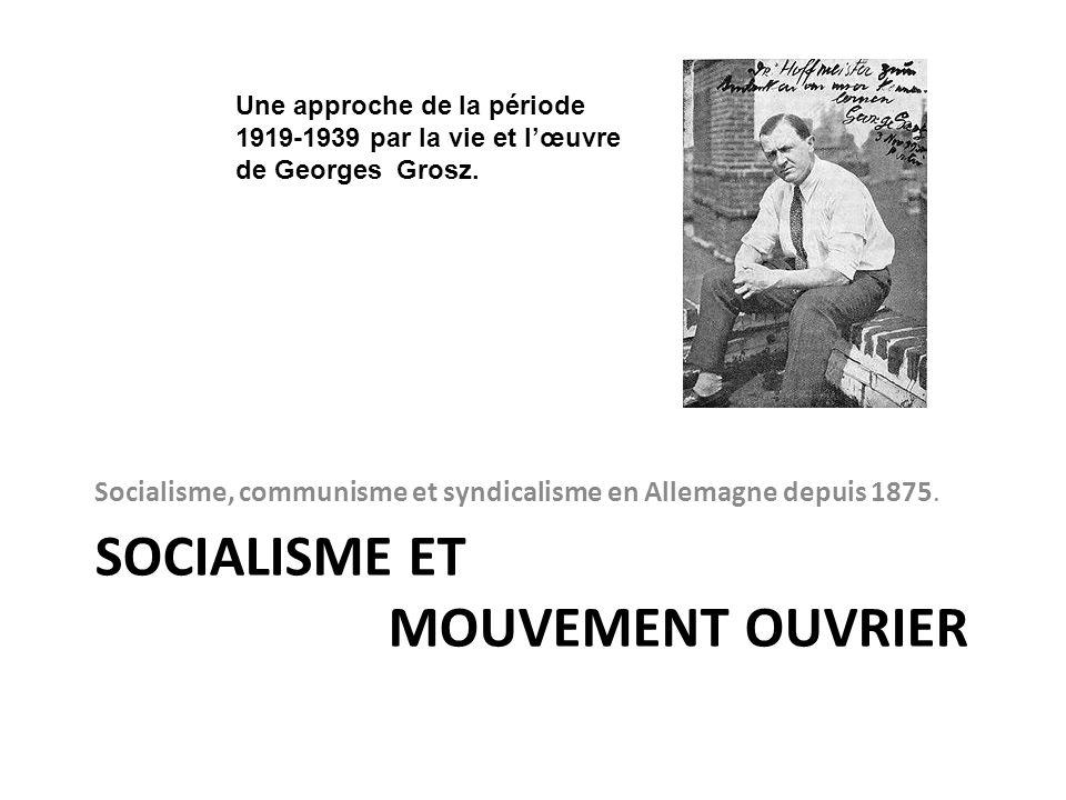 Socialisme et Mouvement ouvrier