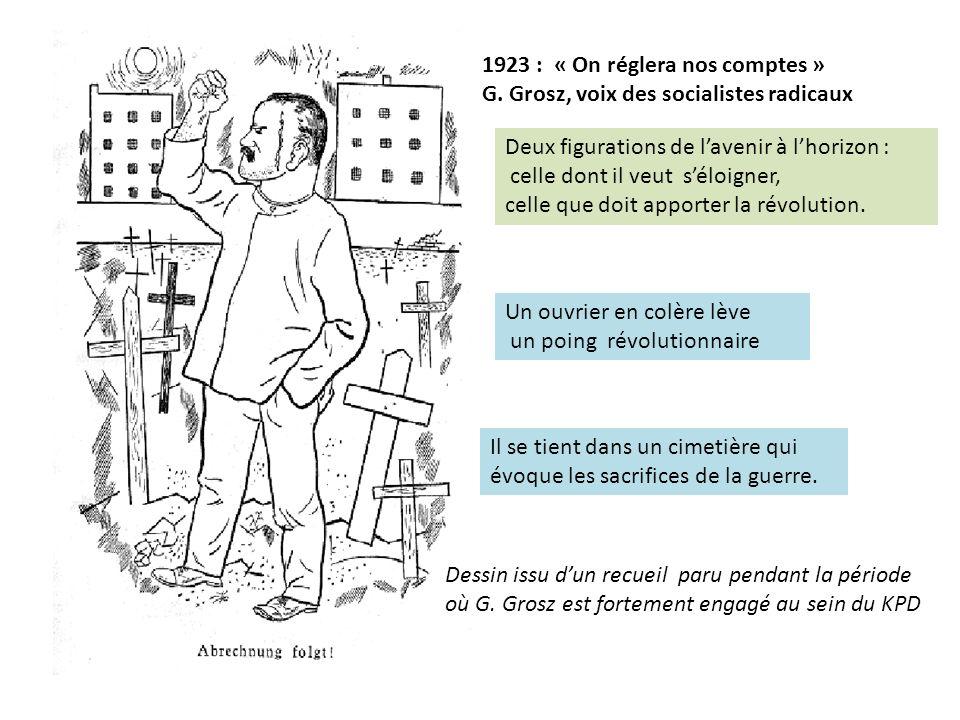 1923 : « On réglera nos comptes »