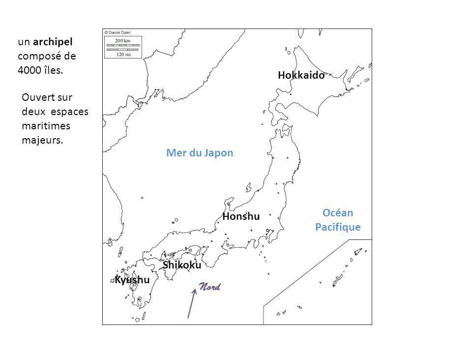 un archipel composé de 4000 îles.
